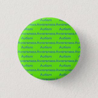 Bóton Redondo 2.54cm Botão da consciência do autismo