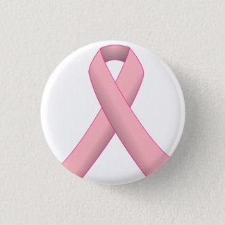 Bóton Redondo 2.54cm Botão da fita de câncer de mama