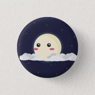 Bóton Redondo 2.54cm Botão da lua