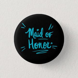 Bóton Redondo 2.54cm Botão da madrinha de casamento