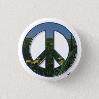 Bóton Redondo 2.54cm Botão da paz do dente-de-leão