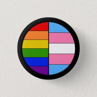 Bóton Redondo 2.54cm Botão da solidariedade de GLBT