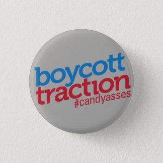 Bóton Redondo 2.54cm Botão da tração do boicote