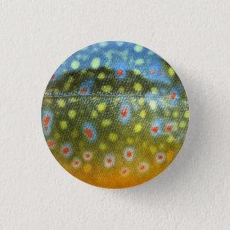 Bóton Redondo 2.54cm Botão da truta de ribeiro
