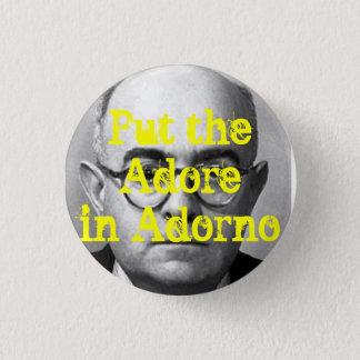 Bóton Redondo 2.54cm Botão de Adorno