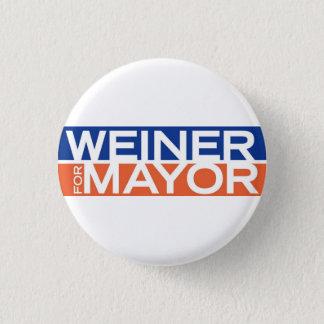 Bóton Redondo 2.54cm Botão de Anthony Weiner
