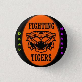 Bóton Redondo 2.54cm Botão de combate dos tigres - novelas inoperantes