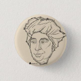 Bóton Redondo 2.54cm Botão de David Hume