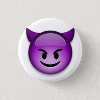 Bóton Redondo 2.54cm Botão de Emoji