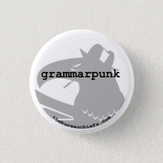 """Bóton Redondo 2.54cm Botão de Grammarpunk 1,25"""""""