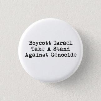 Bóton Redondo 2.54cm Botão de Israel do boicote