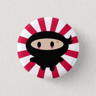 Bóton Redondo 2.54cm Botão de Kawaii Ninja