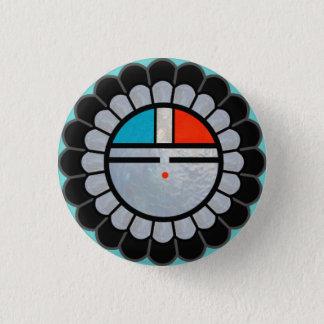 Bóton Redondo 2.54cm Botão de lapela de Zuni Sun