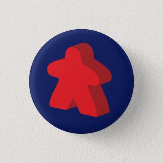 Bóton Redondo 2.54cm Botão de Meeple
