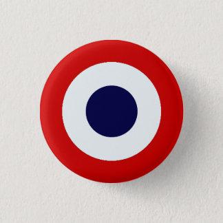 Bóton Redondo 2.54cm Botão de Mods do francês