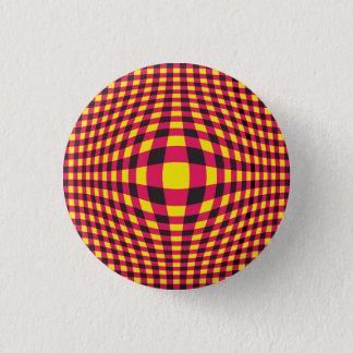 Bóton Redondo 2.54cm Botão de Opart