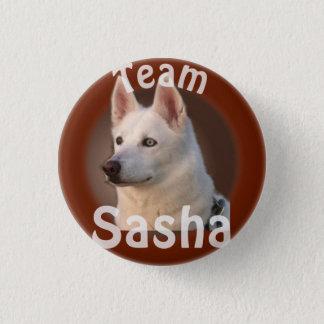 Bóton Redondo 2.54cm Botão de Sasha da equipe