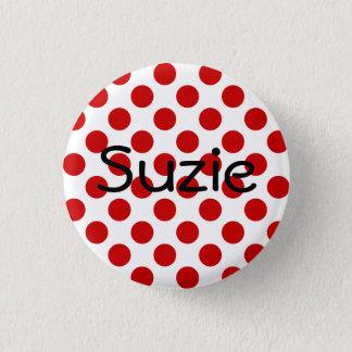 Bóton Redondo 2.54cm Botão de Suzie