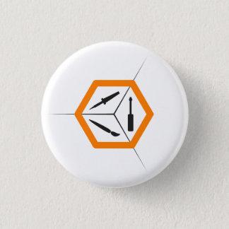 Bóton Redondo 2.54cm Botão de TCMS - luz pequeno-