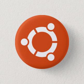 Bóton Redondo 2.54cm Botão de Ubuntu