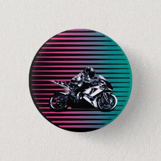 Bóton Redondo 2.54cm Botão de Vaporwave Moto