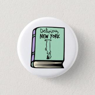 Bóton Redondo 2.54cm Botão delirante do livro de Rem Koolhaas New York