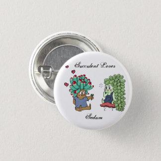 Bóton Redondo 2.54cm Botão do amante do Succulent