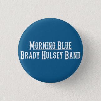 Bóton Redondo 2.54cm Botão do azul da manhã