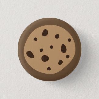 Bóton Redondo 2.54cm Botão do biscoito dos pedaços de chocolate