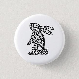 Bóton Redondo 2.54cm Botão do coelho