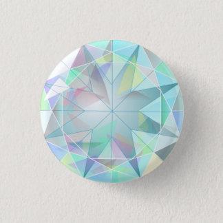 Bóton Redondo 2.54cm Botão do diamante