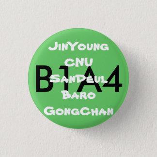 Bóton Redondo 2.54cm Botão do fã B1A4