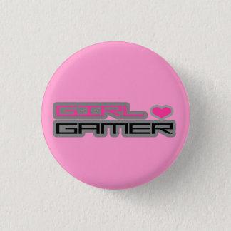 Bóton Redondo 2.54cm Botão do Gamer da menina