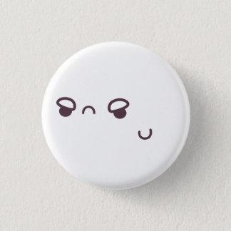 Bóton Redondo 2.54cm Botão do Grump de Kaomoji