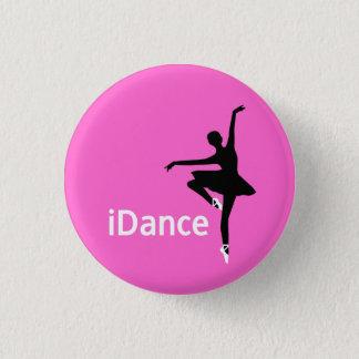 Bóton Redondo 2.54cm botão do iDance (eu danço)