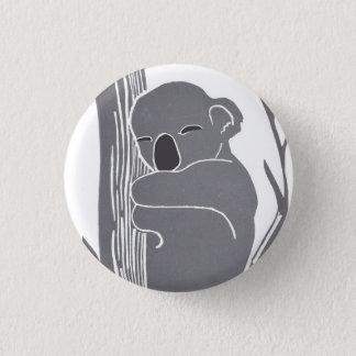 Bóton Redondo 2.54cm Botão do Koala do sono