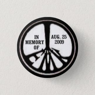 Bóton Redondo 2.54cm Botão do memorial da paz de EMK