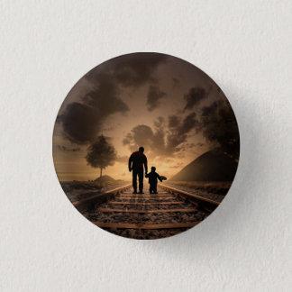 Bóton Redondo 2.54cm botão do pai e do filho