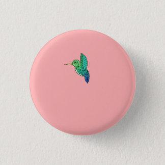 Bóton Redondo 2.54cm Botão do pássaro do zumbido