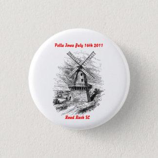 Bóton Redondo 2.54cm Botão do passeio de Pell