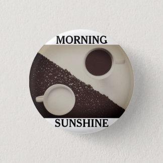 Bóton Redondo 2.54cm Botão do Pin do café da luz do sol da manhã