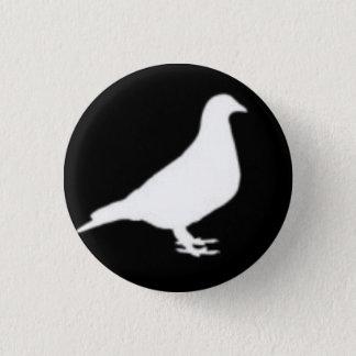 Bóton Redondo 2.54cm Botão do pombo