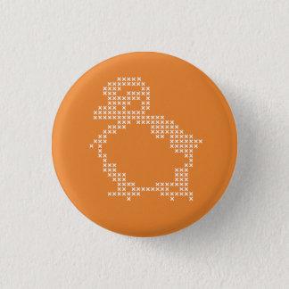 Bóton Redondo 2.54cm botão do ponto de cruz