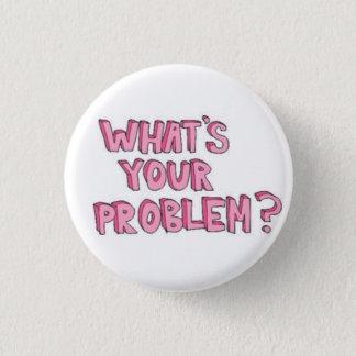 Bóton Redondo 2.54cm Botão do problema