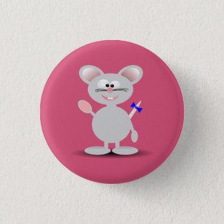 Bóton Redondo 2.54cm Botão do rato animado