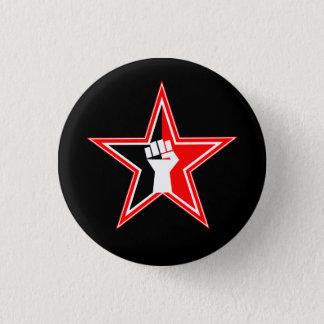 Bóton Redondo 2.54cm botão do revolucionário do Anarcho-sindicalista