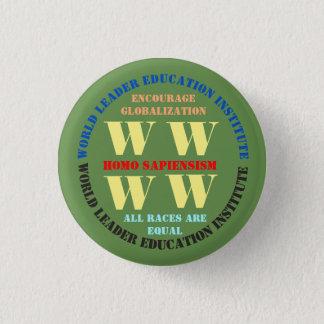 Bóton Redondo 2.54cm Botão do selo de W W W W