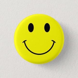 Bóton Redondo 2.54cm Botão do smiley face