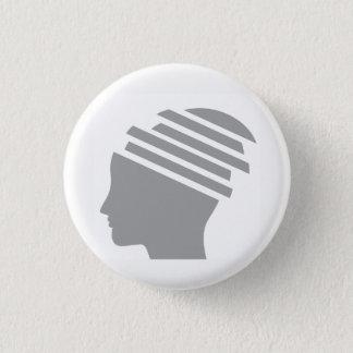 Bóton Redondo 2.54cm botão do sobrevivente do traumatismo