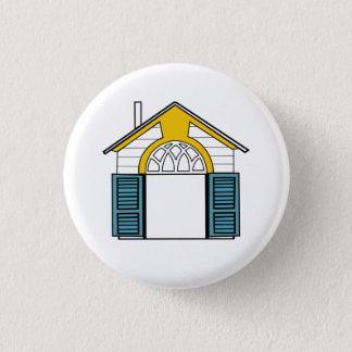 Bóton Redondo 2.54cm Botão ecléctico das casas de Robert Venturi (4 de